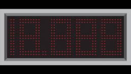 Panel LED númerico de 36 centímetros (14 Pulgadas) 1